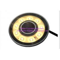 Buy cheap Diameter 110mm Underwater Fountain Lights 5w Submersible Pond Fountain Lighting from wholesalers
