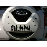 Buy cheap Military pattern PTE Sticker Reflective Sticker Auto Spare Tire Sticker from wholesalers