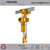 Buy cheap 2.5ton Electric Chain Hoist With Electric Trolley from wholesalers