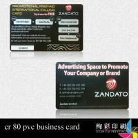 Buy cheap CMYK Printed Customized Plastic Cards With Magnetic Stripe For Supermarket product