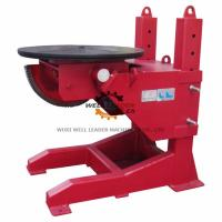 Buy cheap Tiltable Manual Pipe Welding Positioners 400mm Stroke Table Elevation from wholesalers