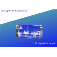 Buy cheap 3d crystal rectangle/crystal 3d laser engraving cube/blank crystal blocks/blank 3d crystal from wholesalers