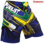 Buy cheap Kawasaki fashion custom sublimated team wear MMA Short from wholesalers
