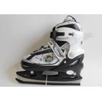Buy cheap Entry Level Adjustable Junior Kids Skates Ice Skating Skates with Double Blade from wholesalers