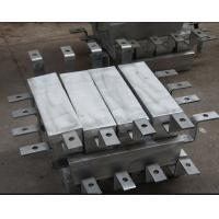 Buy cheap Aluminum Pier / piling anodes Cathodic protection , Aluminium Anodes from wholesalers