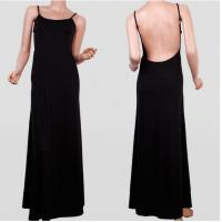 Buy cheap Strapless Open Back Sexy Halter Slim Fit Floor Length Cocktail Dresses For Lady from wholesalers