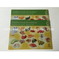 Buy cheap Eco-friendly Rubber Desk Pad Plastic PVC Placemat With Nontoxic from wholesalers