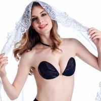 Buy cheap F1001 Sexy super light strapless stick on lace silicone bra manufacturer from wholesalers