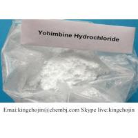 Buy cheap Anabolic Steroid Hormones Yohimbine HCL Powder 65-19-0 For Sex Enhance from wholesalers