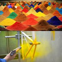 Buy cheap Anti Corrosion Glossy Polyester Epoxy Powder Coating Spray RAL 1019 from wholesalers