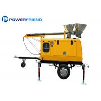 Buy cheap 4000w Mobile Light Tower Generator Mobile Light Tower With Metal Halide Lights Trailer Type from wholesalers