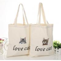 Buy cheap China OEM Customize Print Letter Canvas Shopping Bag from wholesalers
