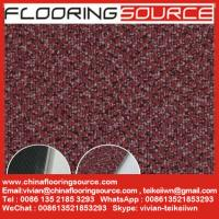Buy cheap Commercial Vinyl Flooring Tiles Carpet Wooden Pattern Design 18x18; 24x24; 36x36 from wholesalers