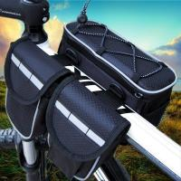 China 4 In 1 Mountain Biking Backpack, Cycling Riding Front Bag With Rain Cover on sale