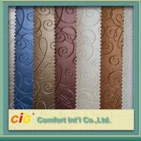 Buy cheap Faux Leather Upholstery Fabric PVC Artificial Leather 1.37m Width product