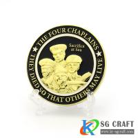 Buy cheap custom gold silver copper bronze soft enamel zinc alloy 3d metal challenge coin from wholesalers