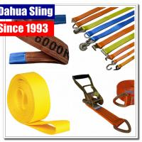 Buy cheap En 1492-1 Standard Endless Lifting Slings Yellow Lifting Straps Durable 1 Layer from wholesalers