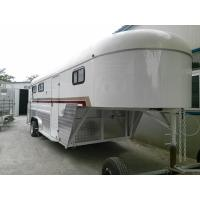 Buy cheap livestock trailer,farm trailers for sale,gooseneck type 3 horse trailer from wholesalers