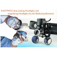 Buy cheap LED Headlight with magnifier 2.5X for vet surgical operation and examination purposes KS-W01 Black one-FREE SHIPPING from wholesalers