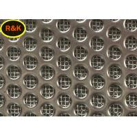 Buy cheap 316L Sintered Wire Mesh Multi Layer Square Shape Chemical Stability from wholesalers