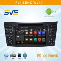 Buy cheap Android 4.4.4 car dvd player for Benz E W211 car radio gps navigation system car Audio from wholesalers
