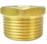 Buy cheap 3/4 NPT Male X 1/4 NPT Female Brass Tube Fitting Hex Bushing from wholesalers
