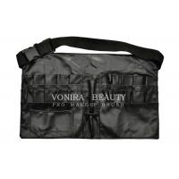 Buy cheap New style Faux Leather Makeup Brush Apron Tool Bag with Belt from wholesalers