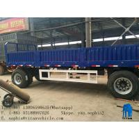 Buy cheap Drawbar trailer with sidewall | TITAN VEHICLE from wholesalers