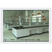 Buy cheap Anti Chemical Acid Alkali School  Lab Furniture Bench Bearing 500kg from wholesalers