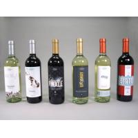 Buy cheap Printed Red Wime Label / Wine Bottle Shrink Sleeve Labels Self Adhesive from wholesalers