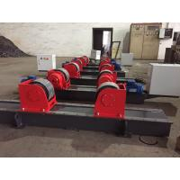 Buy cheap Bolt Adjustment Heavy Duty Roller Stand , Hand Control Box Conventional Welding Rotator from wholesalers