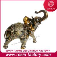 Buy cheap Customized Resin Elephant Figurine Statue for President Table Decoration from wholesalers
