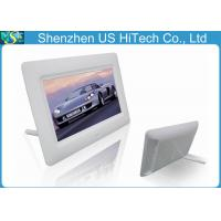 Buy cheap Slideshow Playback 7 Inch Small Digital Picture Frame With Earphone Interface 200cdm2 from wholesalers