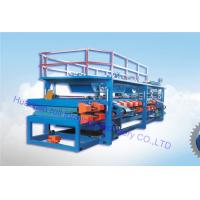Buy cheap Production line foam Sandwich roofing panel roll forming machine 32kw motor from wholesalers