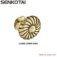 Buy cheap Antique Style Brass  Elegant Solid Hardware Knobs for Furniture Cabinet Closet Drawer Box Door Handles from wholesalers