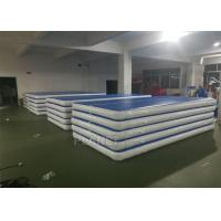 Buy cheap Custom Drop Stitch Material Inflatable Air Track For Sport Train from wholesalers