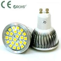 Buy cheap Energy Saving 4 X 1 W 320 - 450LM Aluminum Lamp Body Gu10 LED Spotlight Lamp Bulbs from wholesalers
