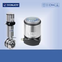 Buy cheap 3pcs butterfly Intelligent valve Positioner With pneumatic actuator from wholesalers