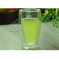China New Design Double Wall Borosilicate Glass Custom Double Walled Beer Glass on sale