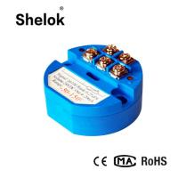 Buy cheap Pt100 temperature transmitter module low price from wholesalers