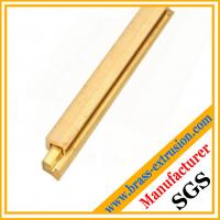 Buy cheap OEM brass watch belts copper alloy extrusion profiles sections 5~180mm OEM ODM brass hpb58-3, hpb59-2, C38500 from wholesalers