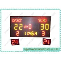 Buy cheap Wireless basketball electronic scoreboard & shot clock for basket score timer from wholesalers