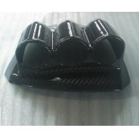 Buy cheap carbon fiber 3 holes Auto Dashboard Speedometer Gauge pod Mount holder box from wholesalers