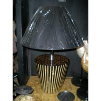 Buy cheap Hand Paint Resin Art Deco Table Lamps for Hotel Wholesale from wholesalers