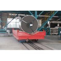 Buy cheap Low Voltage Conductor Rail Transfer Cart , Industrial Transfer Car For Cargo Handling from wholesalers