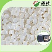 Buy cheap EVA and Viscosity resin Light  Granule Coated Paper Hot EVA Hot Melt Adhesive For Bookbinding Yellowish Color from wholesalers