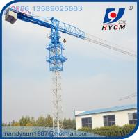Buy cheap 60m Boom 10ton 2*2*3m Split Mast Section QTP6010 Topless Tower Crane Manufacturer from wholesalers