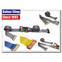Buy cheap 2 Custom E Track Tie Down Straps , 4500 Lb Cam Lock Straps For Tying Down from wholesalers