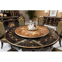 Buy cheap Antique wooden round rotating dining table TN-029N from wholesalers