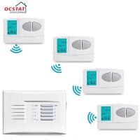 Buy cheap Weekly Programmable Water Heating Wireless Room Thermostat With Digital LCD Display from wholesalers